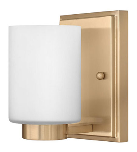 Hinkley Lighting Miley 1 Light Bath Vanity in Brushed Caramel 5050BC