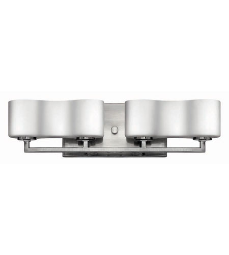 Hinkley Lighting A La Mode 4 Light Bath Vanity in Brushed Nickel 5064BN