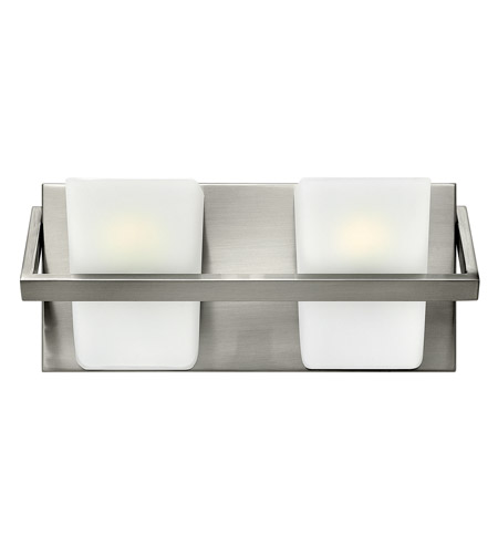Hinkley Lighting Blaire 2 Light Bath in Brushed Nickel 50652BN