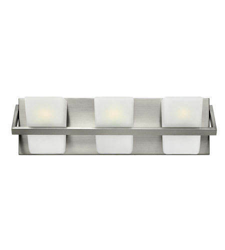 Hinkley Lighting Blaire 3 Light Bath in Brushed Nickel 50653BN