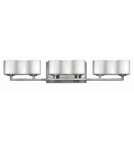 Hinkley Lighting A La Mode 6 Light Bath Vanity in Brushed Nickel 5066BN photo