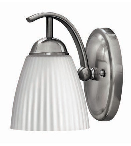 Hinkley Lighting Devon 1 Light Bath Vanity in Brushed Nickel 5070BN photo