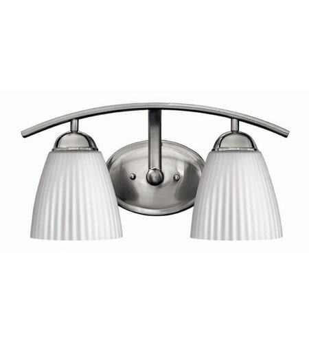 Hinkley Lighting Devon 2 Light Bath Vanity in Brushed Nickel 5072BN