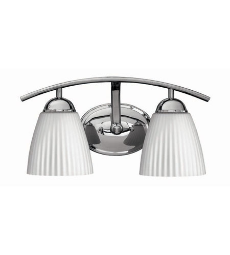 Hinkley Lighting Devon 2 Light Bath Vanity in Chrome 5072CM