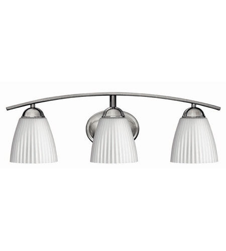 Hinkley Lighting Devon 3 Light Bath Vanity in Brushed Nickel 5073BN photo