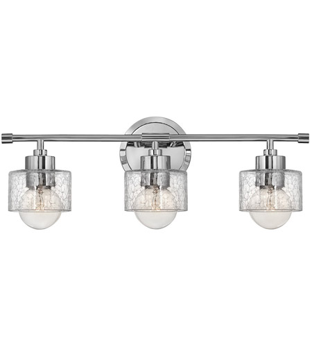 Hinkley Lighting Bryanna 3 Light Bath Vanity in Chrome 5083CM photo