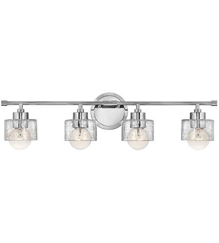 Hinkley Lighting Bryanna 4 Light Bath Vanity in Chrome 5084CM