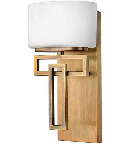 Hinkley Lighting Lanza 1 Light Bath Vanity in Brushed Bronze 5100BR