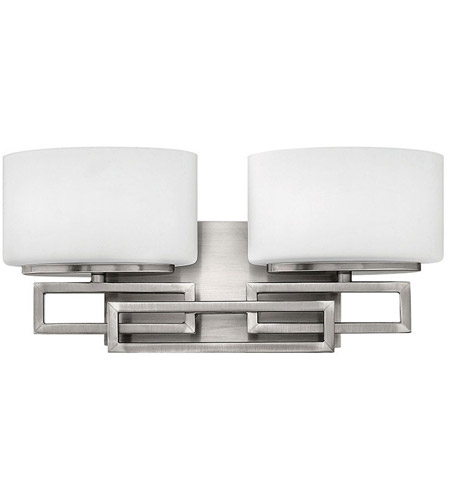 Hinkley Lighting Lanza 2 Light Bath Vanity in Antique Nickel 5102AN