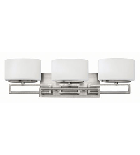 Hinkley Lighting Lanza 3 Light Bath in Antique Nickel 5103AN-LED2
