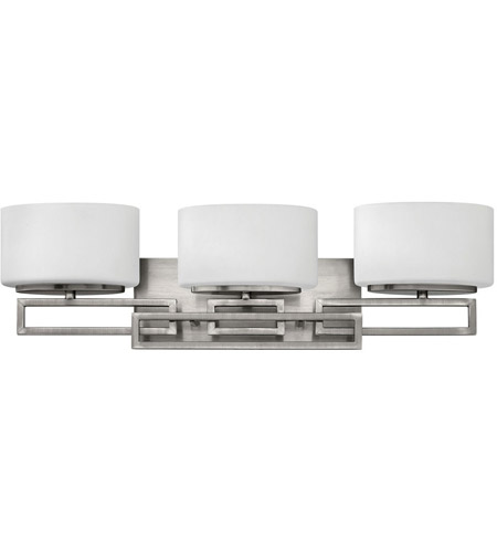 Hinkley Lighting Lanza 3 Light Bath Vanity in Antique Nickel 5103AN photo