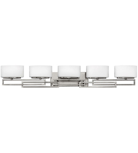 Hinkley Lighting Lanza 5 Light Bath Vanity in Antique Nickel 5105AN