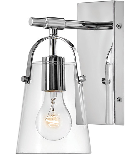 Hinkley Lighting Orb 1 Light Bath Vanity in Chrome 5130CM photo