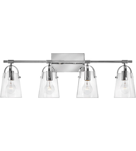Hinkley Lighting Orb 4 Light Bath Vanity in Chrome 5134CM