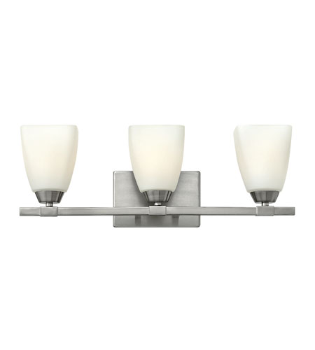 Hinkley Lighting Jordan 3 Light Bath in Brushed Nickel 51353BN photo