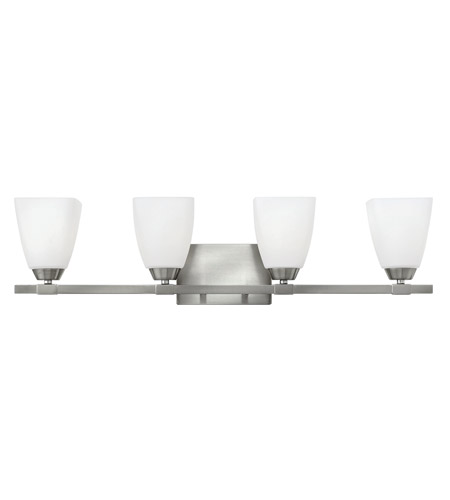Hinkley Lighting Jordan 4 Light Bath in Brushed Nickel 51354BN