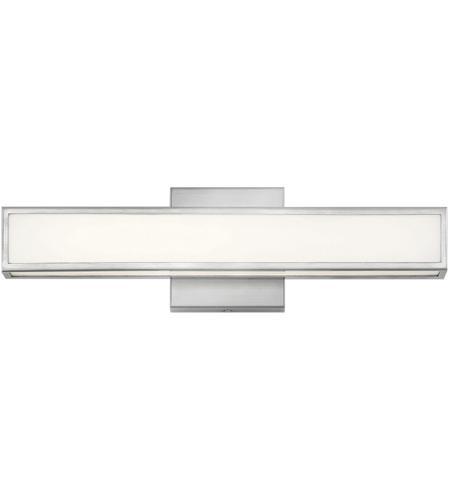Hinkley BN Alto LED Inch Brushed Nickel Bath Bar Wall Light - 18 inch bathroom light fixture