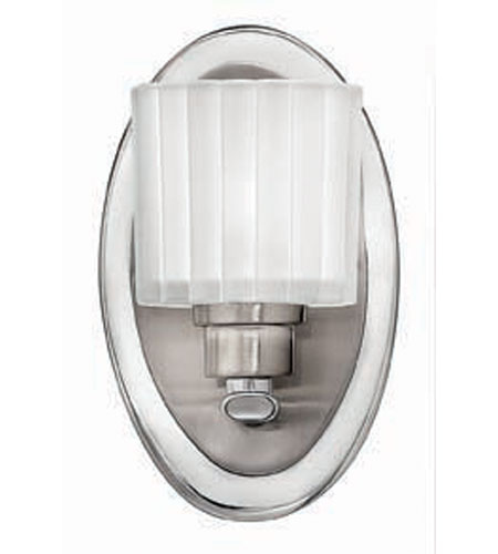Hinkley Lighting Pia 1 Light Bath Vanity in Brushed Nickel 5170BN photo
