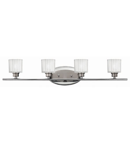 Hinkley Lighting Pia 4 Light Bath Vanity in Brushed Nickel 5174BN photo