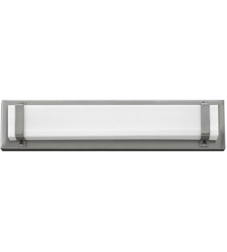 Hinkley 51812BN Tremont LED 16 inch Brushed Nickel Bath Light Wall Light, Etched White Acrylic Panel photo