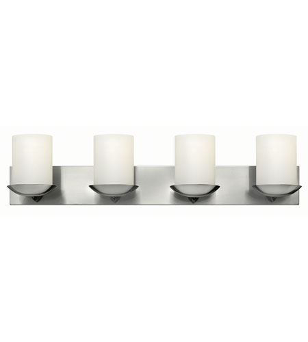 Hinkley Lighting Bristol 4 Light Bath in Brushed Nickel 51844BN