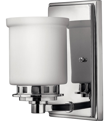 Hinkley Lighting Ashley 1 Light Bath Vanity in Chrome 5190CM