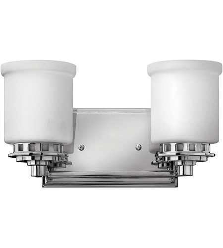 Hinkley Lighting Ashley 2 Light Bath Vanity in Chrome 5192CM photo