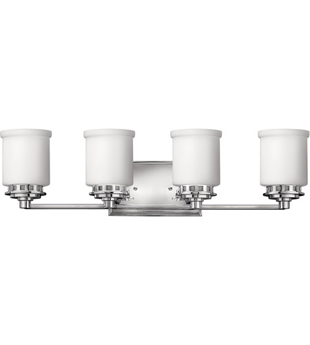 Hinkley Lighting Ashley 4 Light Bath Vanity in Chrome 5194CM