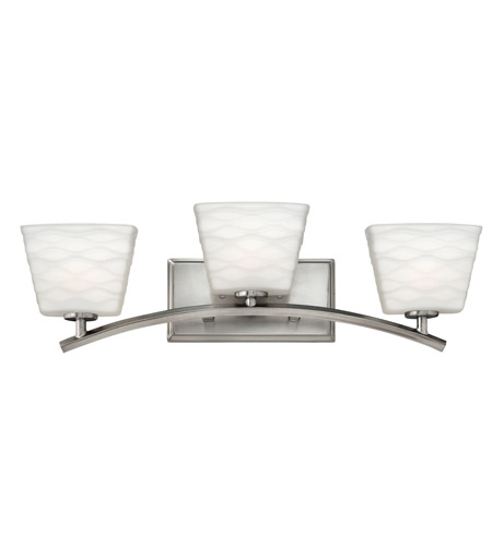 Hinkley Lighting Tory 3 Light Bath Vanity in Brushed Nickel 5203BN