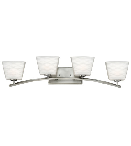 Hinkley Lighting Tory 4 Light Bath Vanity in Brushed Nickel 5204BN