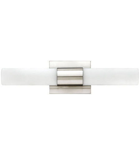 Hinkley 52112PN Portia LED 19 inch Polished Nickel Bath Light Wall Light, Etched Opal Glass photo