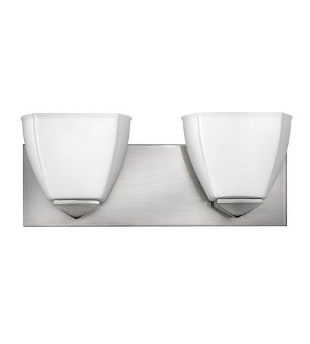 Hinkley Lighting Avery 2 Light Bath Vanity in Brushed Nickel 5212BN