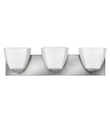 Hinkley Lighting Avery 3 Light Bath Vanity in Brushed Nickel 5213BN