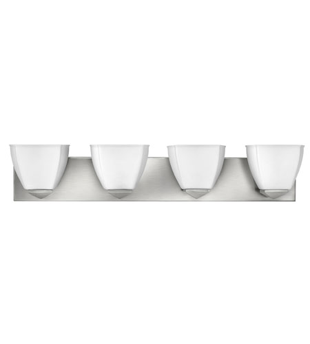 Hinkley Lighting Avery 4 Light Bath Vanity in Brushed Nickel 5214BN