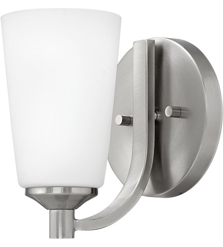 Hinkley 52230BN Sadie 1 Light 6 inch Brushed Nickel Bath Sconce Wall Light photo
