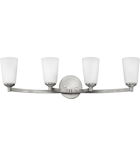 Hinkley 52234BN Sadie 4 Light 33 inch Brushed Nickel Bath Light Wall Light photo