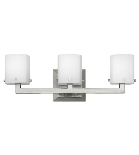 Hinkley Lighting Element 3 Light Bath Vanity in Brushed Nickel 5223BN