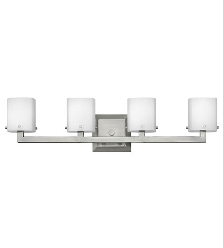 Hinkley Lighting Element 4 Light Bath Vanity in Brushed Nickel 5224BN