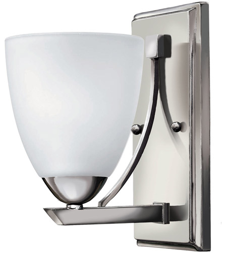 Hinkley 5250CM Pinnacle 1 Light 5 inch Chrome Bath Vanity Wall Light photo
