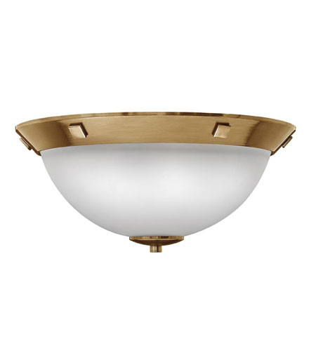 Hinkley Lighting Pinnacle 3 Light Flush Mount in Brushed Bronze 5251BR photo