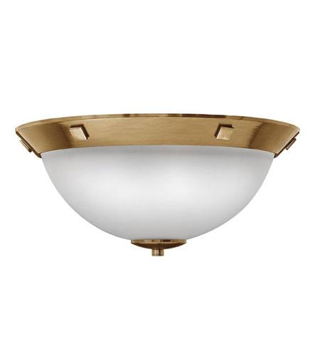 Hinkley Lighting Pinnacle 3 Light Flush Mount in Brushed Bronze 5251BR