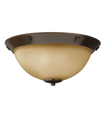 Hinkley Lighting Pinnacle 3 Light Flush Mount in Oil Rubbed Bronze 5251OZ