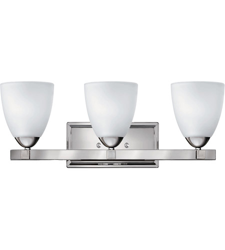 Hinkley Lighting Pinnacle 3 Light Bath Vanity in Chrome 5253CM