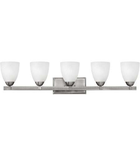 Hinkley Lighting Pinnacle 5 Light Bath Vanity in Antique Nickel 5255AN