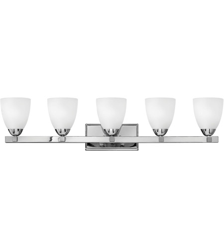 Hinkley Lighting Pinnacle 5 Light Bath Vanity in Chrome 5255CM