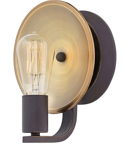 Hinkley OZ Boyer Light Inch Oil Rubbed Bronze Bath Sconce - Bathroom sconce lighting oil rubbed bronze