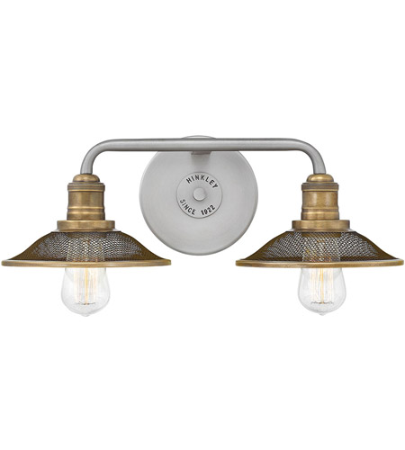 Hinkley 5292AN Rigby 2 Light 19 inch Antique Nickel Bath Light Wall Light photo