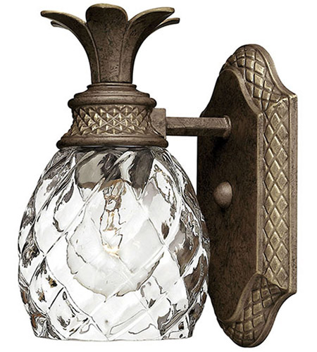 Hinkley 5310PZ Plantation 1 Light 5 inch Pearl Bronze Bath Sconce Wall Light photo