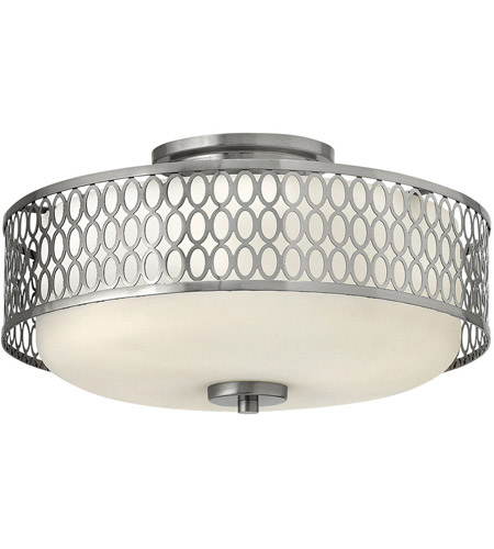 Hinkley Lighting Jules 3 Light Foyer in Brushed Nickel 53241BN