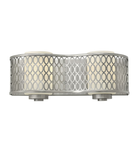 Hinkley 53242BN Jules 2 Light 14 inch Brushed Nickel Bath Wall Light photo